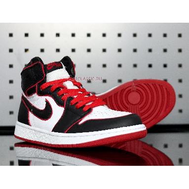 Air Jordan 1 Retro High OG Bloodline 555088-062 Black/Gym Red/White Sneakers