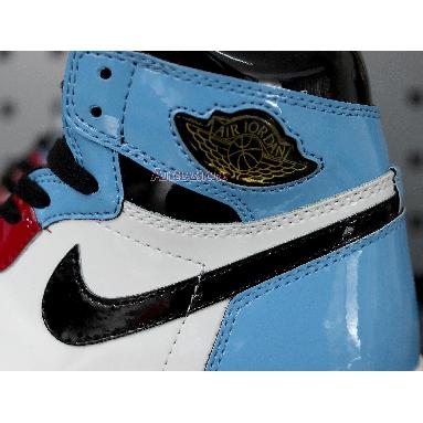 Air Jordan 1 Retro High OG Fearless CK5666-100 White/University Blue-Varsity Red-Black Sneakers
