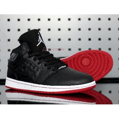 Air Jordan 1 Retro 97 Gym Red 555069-001 Black/White-Gym Red Sneakers