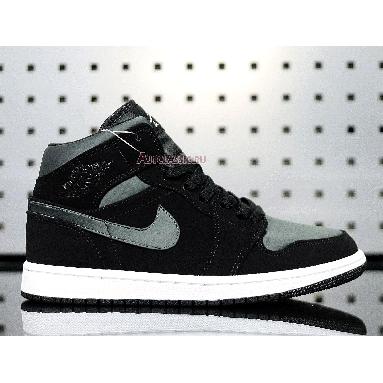 Air Jordan 1 Mid SE Nylon Black Grey 852542-012 Black/Grey Sneakers