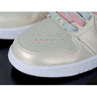 Air Jordan 1 Mid Lemon Yellow CK6587-200 Goose Feather Yellow/Lemon Yellow-White Sneakers