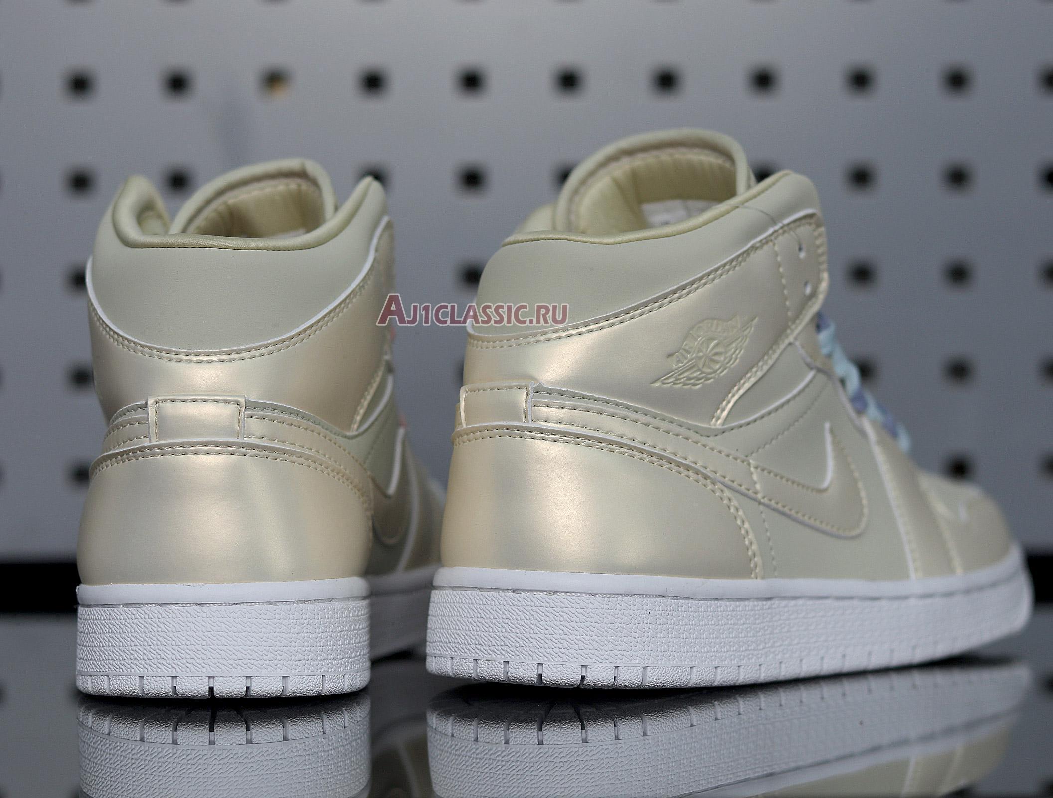 """Air Jordan 1 Mid """"Lemon Yellow"""" CK6587-200"""