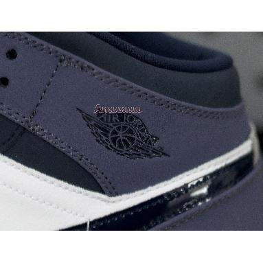 Air Jordan 1 Mid Sanded Purple 554724-445 Obsidian/Sanded Purple-White Sneakers