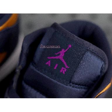 Air Jordan 1 Mid SE Premium Stain Gold 852542-401 Stain Gold/Obsidian-White Sneakers