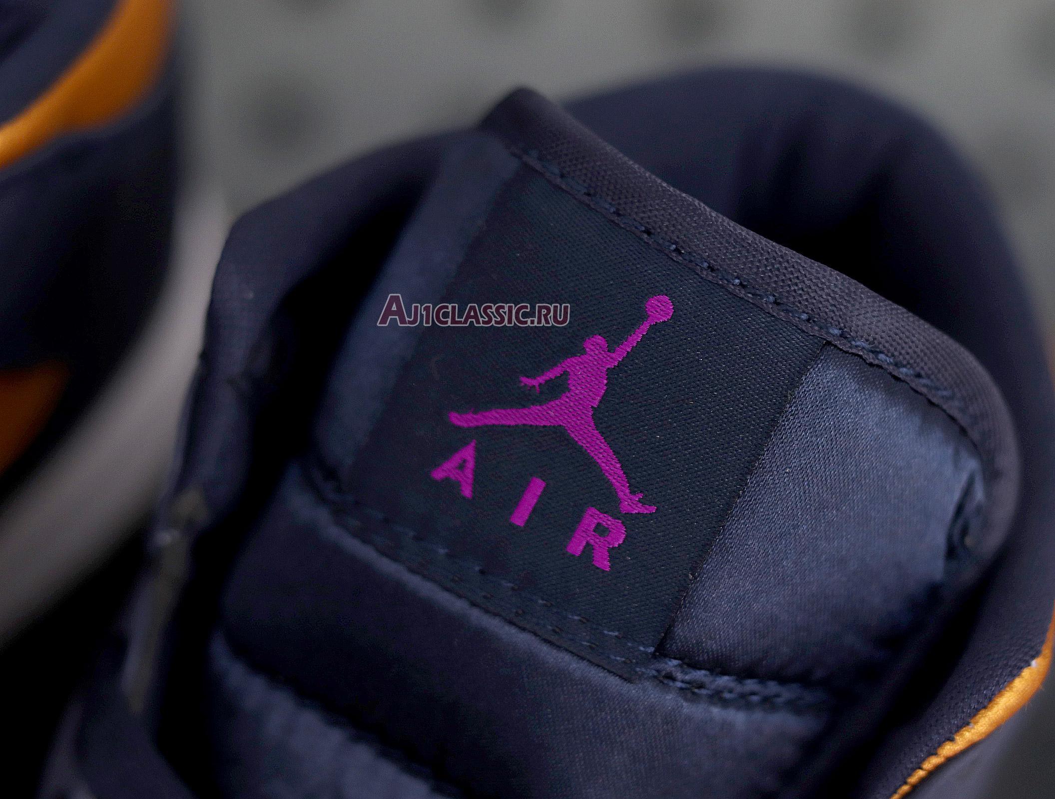 "Air Jordan 1 Mid SE Premium ""Stain Gold"" 852542-401"