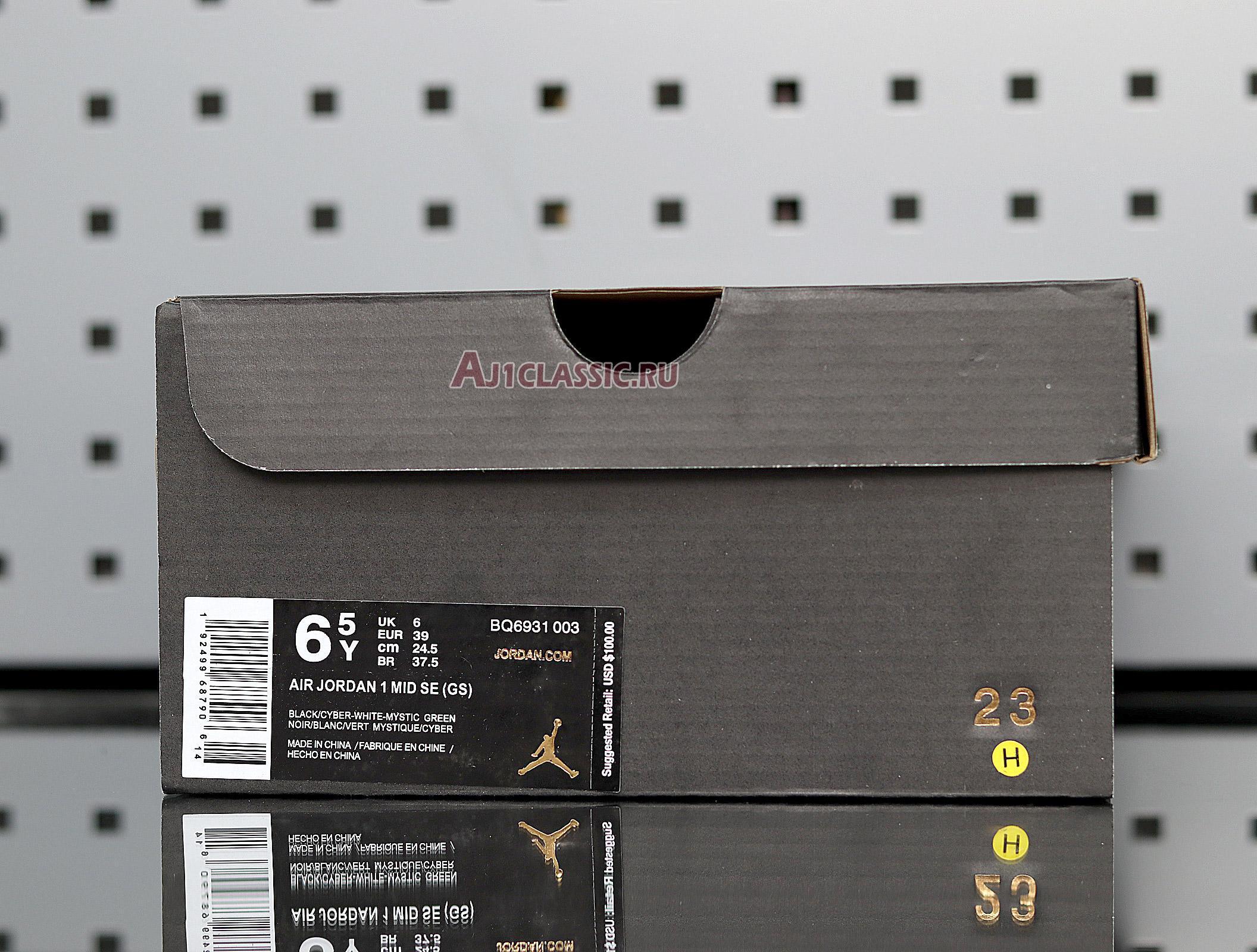 "Air Jordan 1 Mid SE ""Black Cyber"" BQ6931-003"