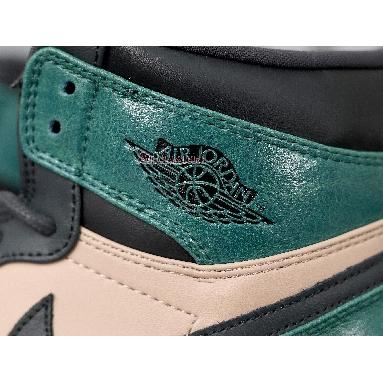 Air Jordan 1 High Premium Mystic Green AH7389-203 Bio Beige/Anthracite-Mystic Green Sneakers