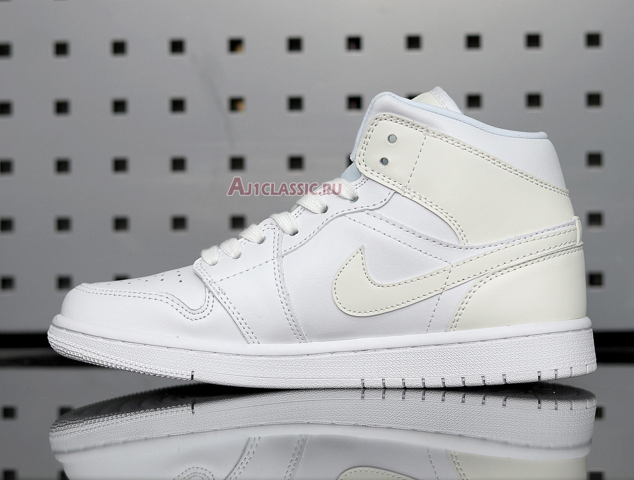 "Air Jordan 1 Mid ""White Ivory"" BQ6472-112"