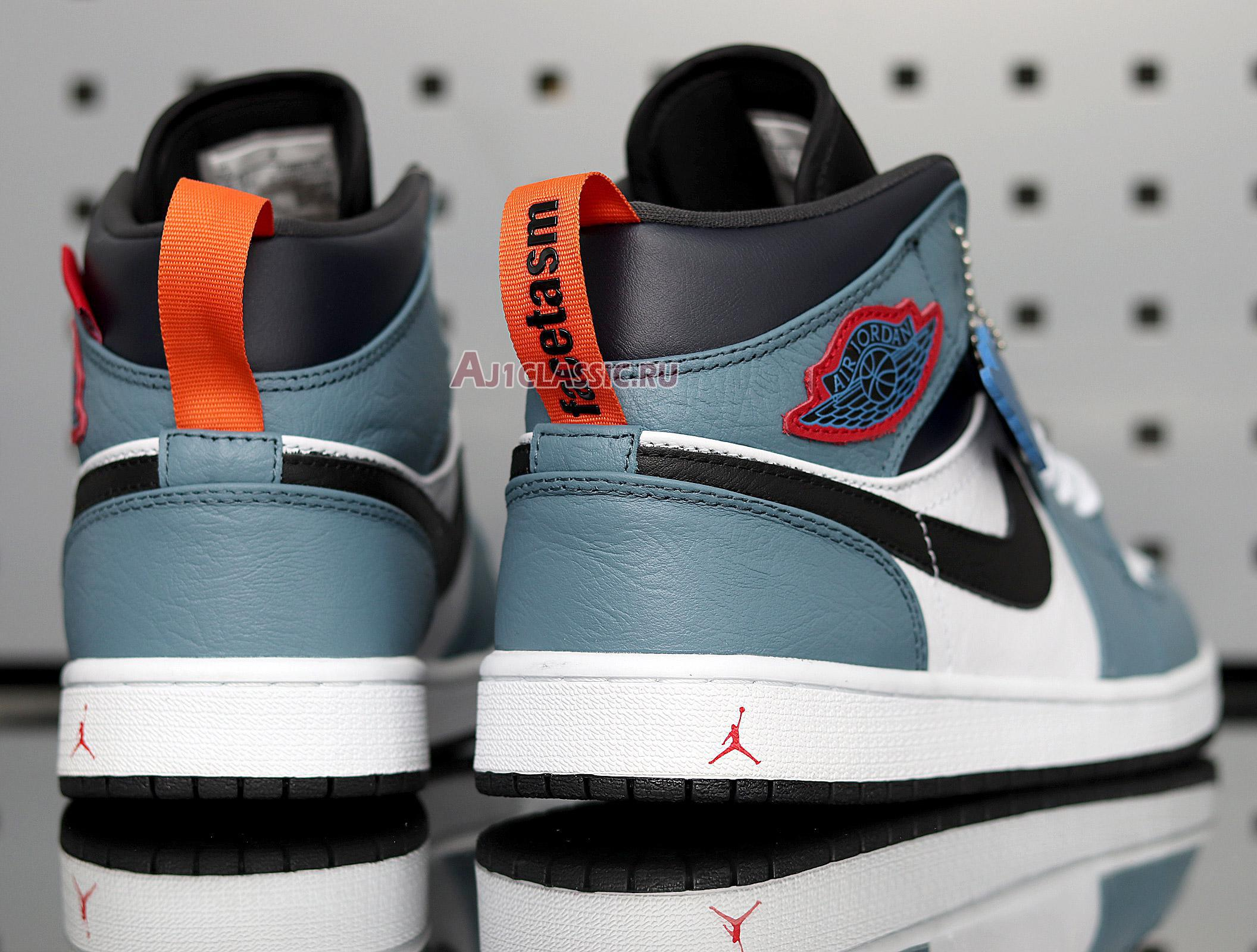 "Facetasm x Air Jordan 1 Mid ""Fearless"" CU2802-100"