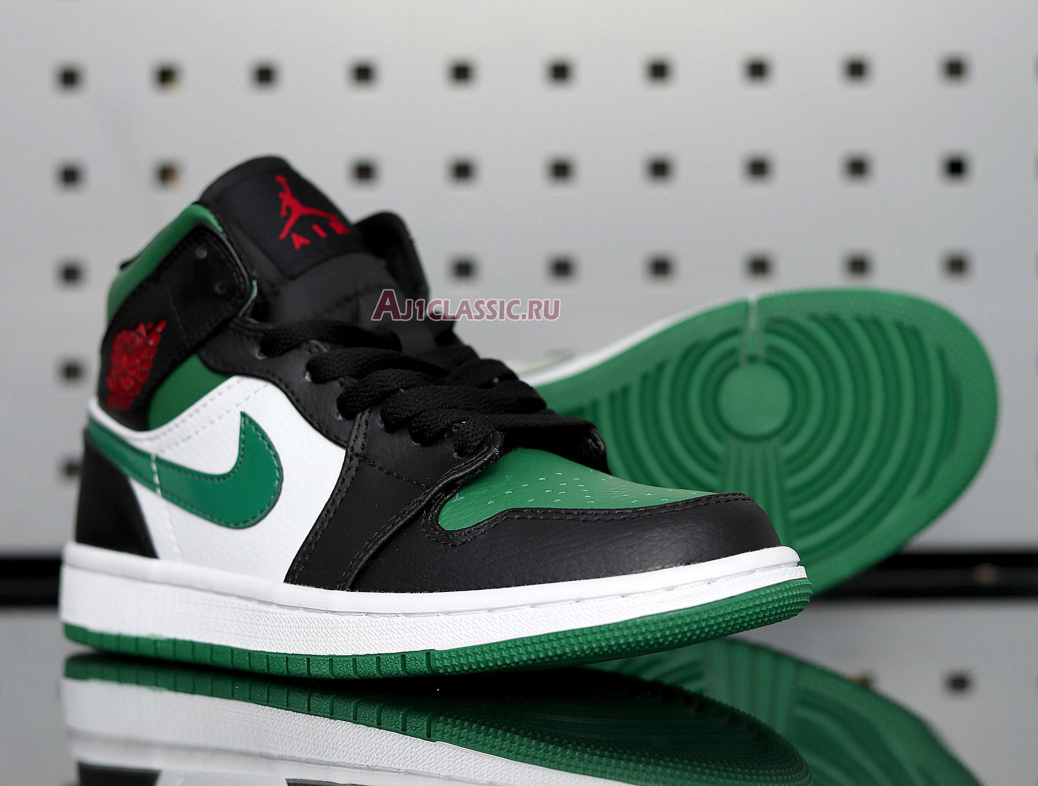 "Air Jordan 1 Mid ""Pine Green"" 554724-067"