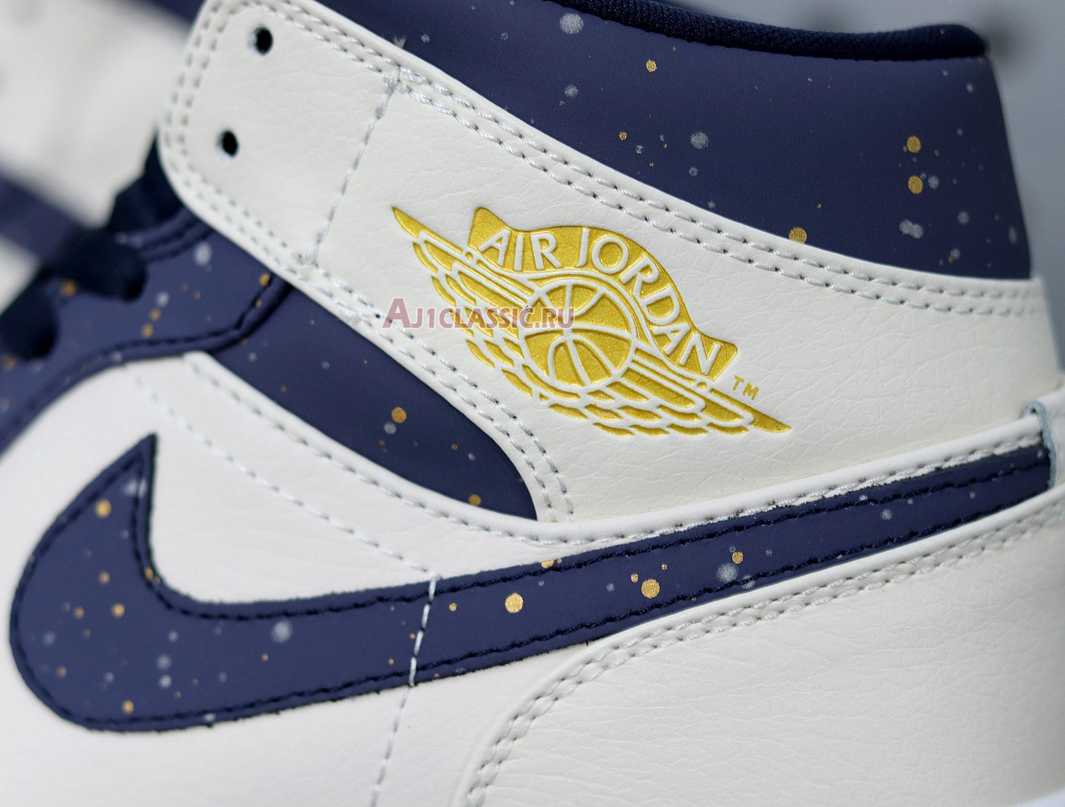 """Air Jordan 1 Mid """"Jeter"""" AH6342-104"""