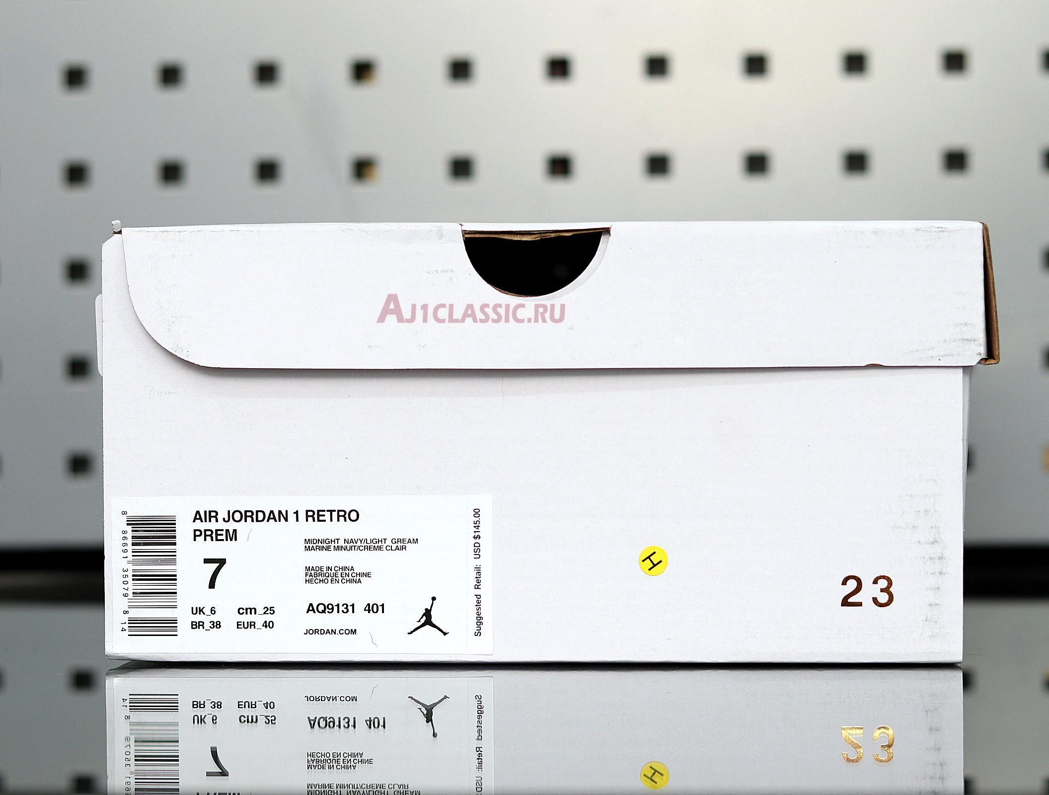 """Air Jordan 1 High """"Navy Cream"""" AQ9131-401"""