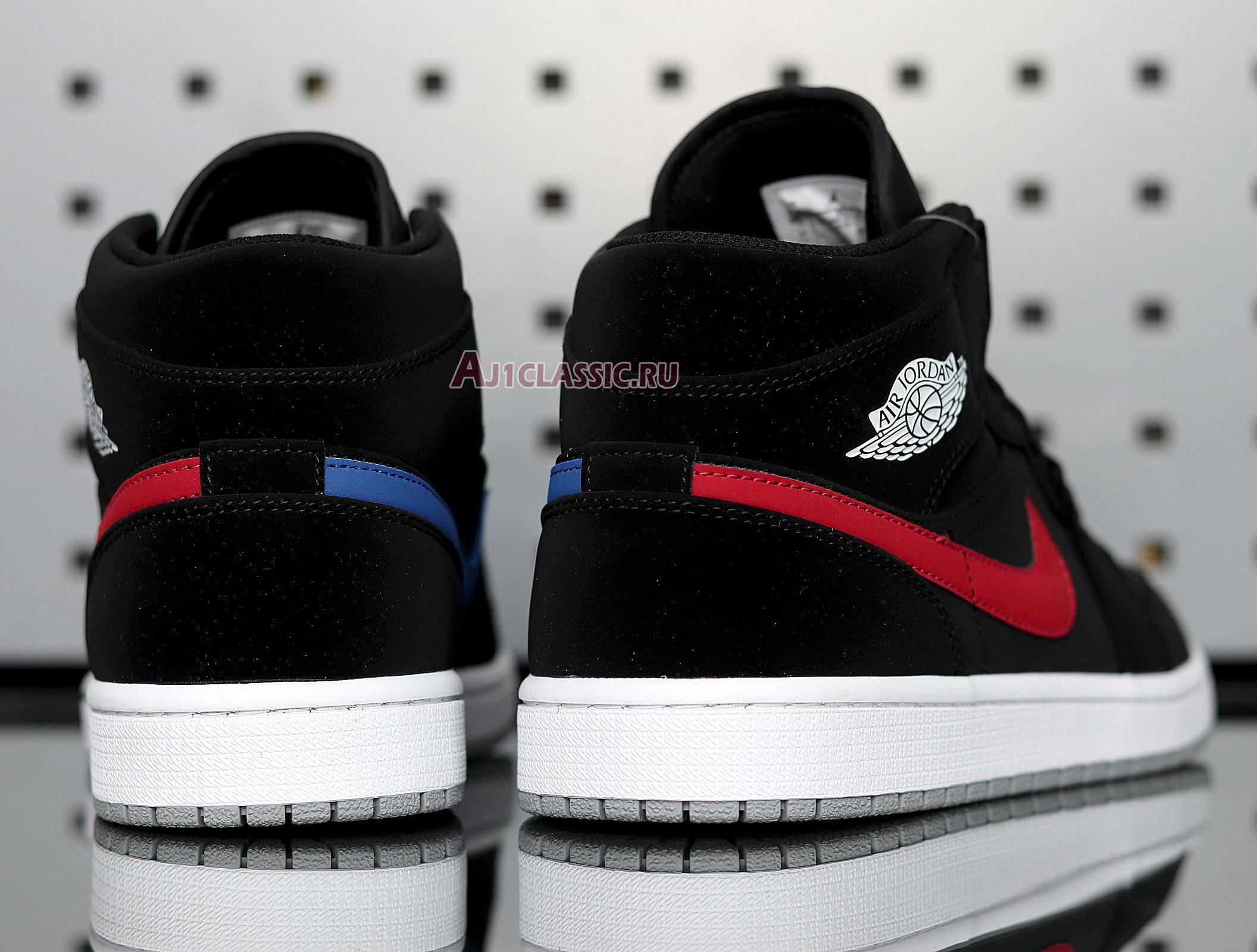 "Air Jordan 1 Retro Mid ""Black University Red"" 554725-065"