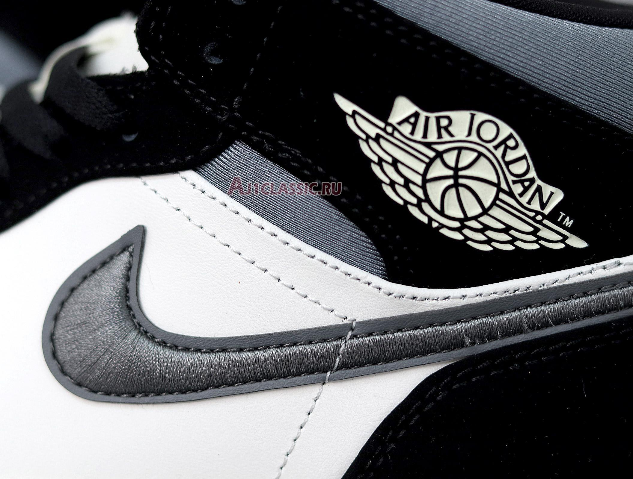 "Air Jordan 1 Mid SE ""Satin Smoke Grey"" 852542-011"