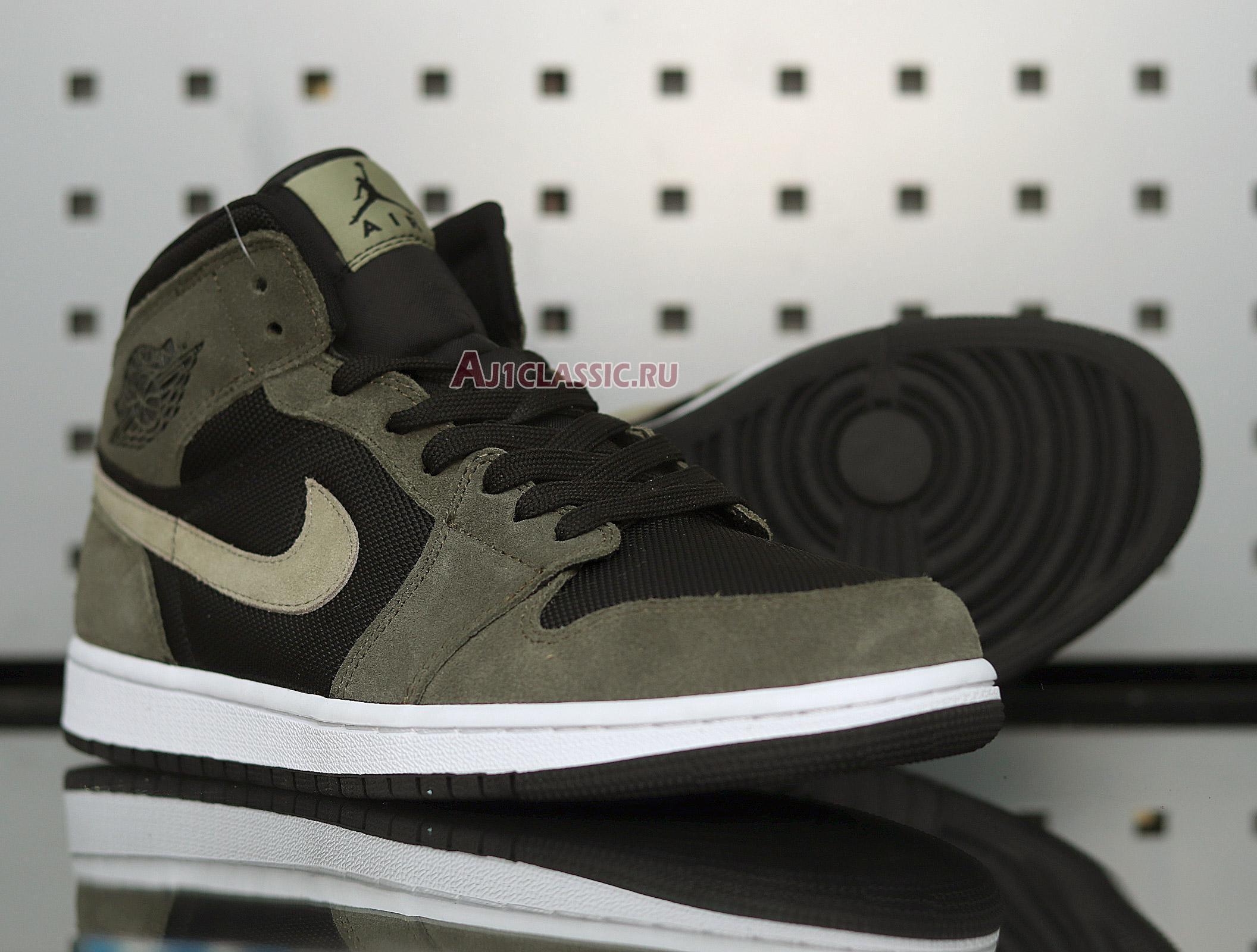 """Air Jordan 1 Mid """"Olive"""" BQ6472-030"""