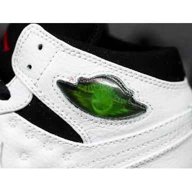 Air Jordan 1 Retro 97 He Got Game 555069-101 White/Black-Gym Red Sneakers