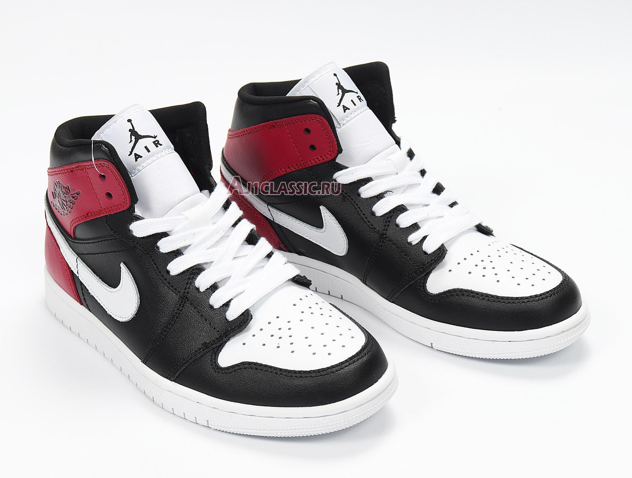 "Air Jordan 1 Mid ""Noble Red"" BQ6472-016"