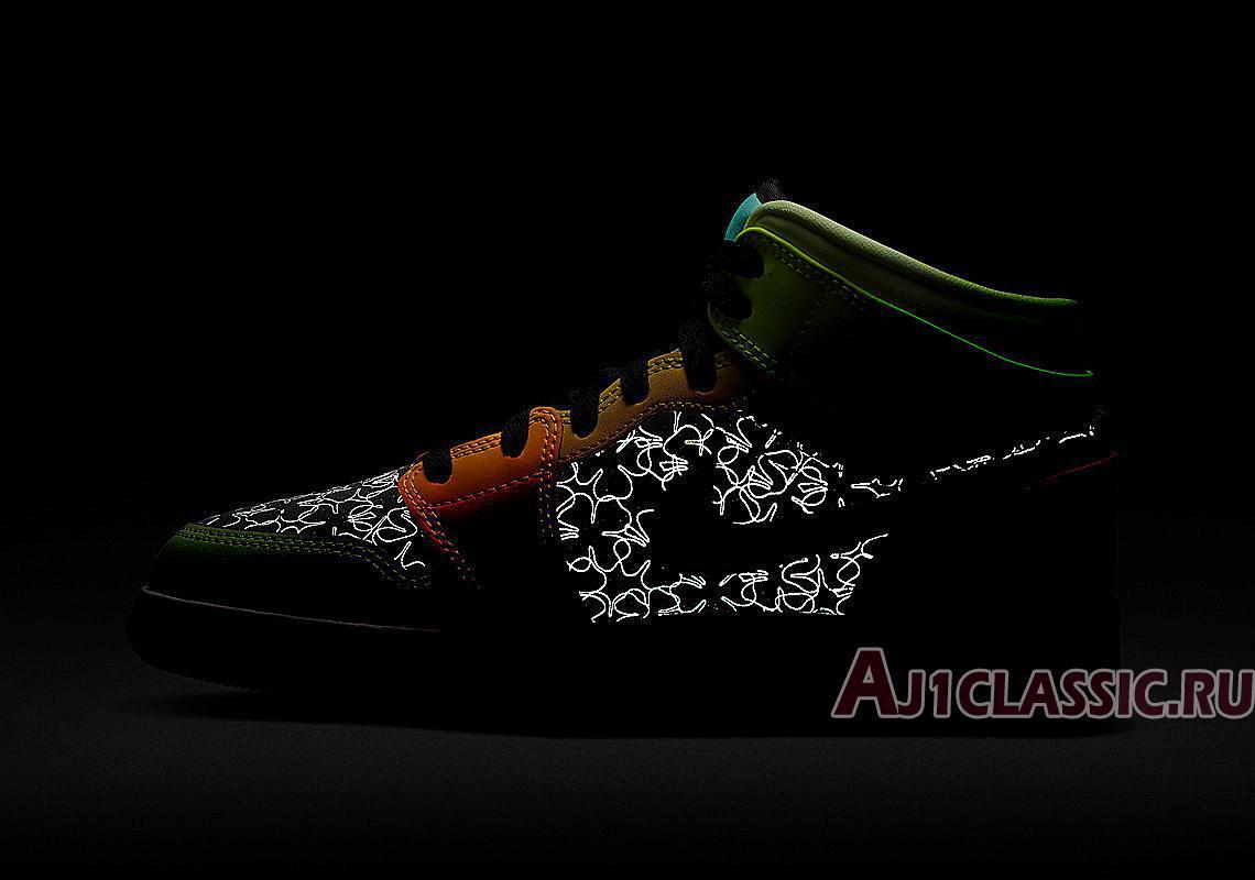 "Air Jordan 1 Mid SE GS ""Clover"" BQ6931-037"