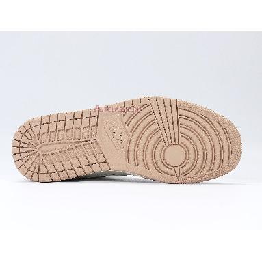 Air Jordan 1 Mid Milan CV3044-100 Sail/Light Bone/String/Shimmer Sneakers