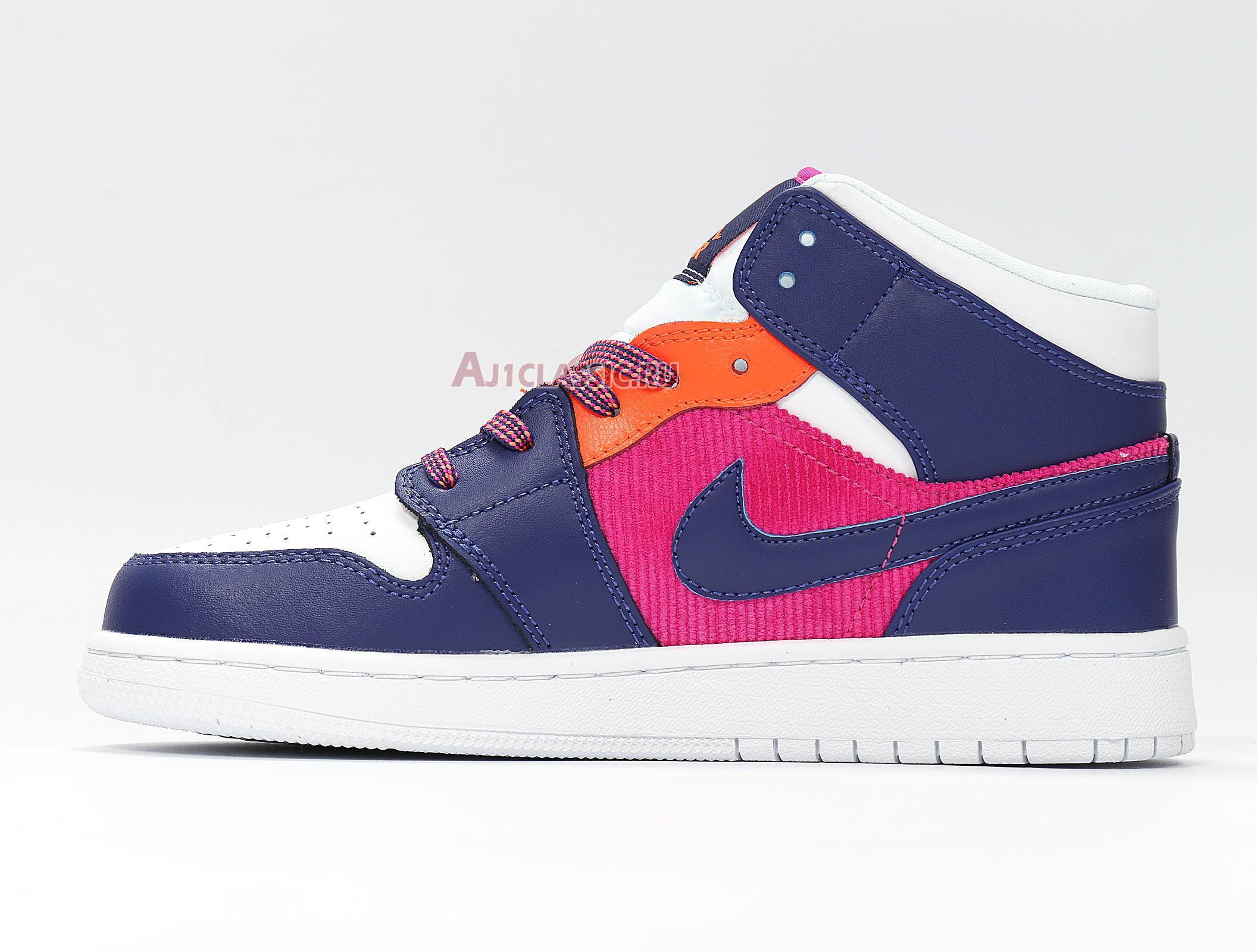 "Air Jordan 1 Mid ""Fire Pink"" 555112-602"