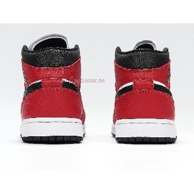 Air Jordan 1 Mid Chicago Black Toe 554724-069 Black/Gym Red/White Sneakers