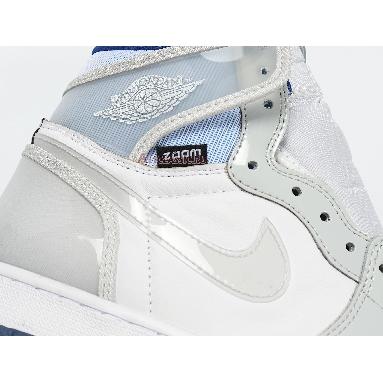 Air Jordan 1 High Zoom Racer Blue CK6637-104 White/Racer Blue/White Sneakers