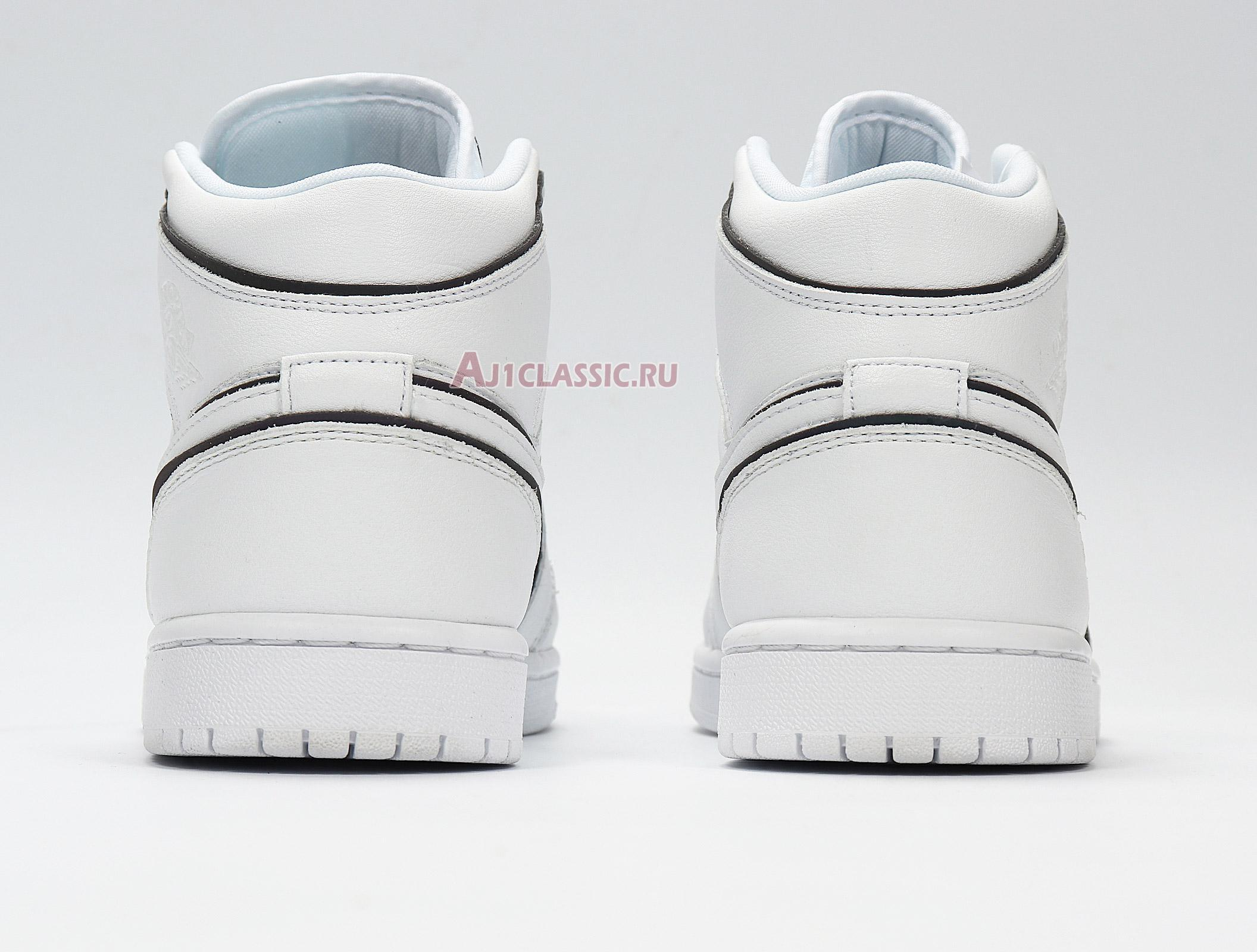 "Air Jordan 1 Mid SE ""Iridescent Trim"" CK6587-100"