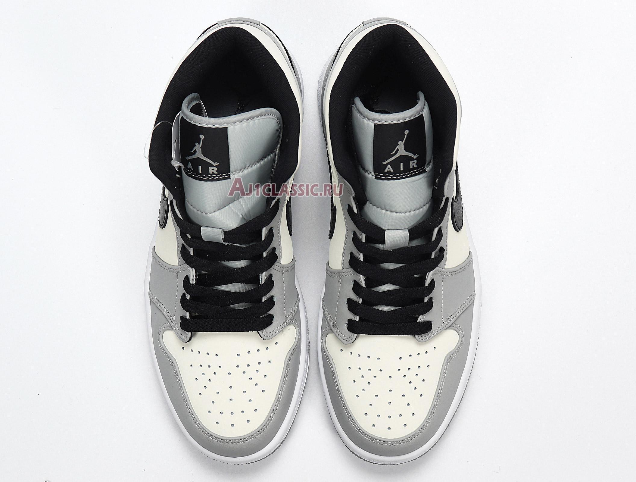 "Air Jordan 1 Mid ""Smoke Grey"" 554724-092"