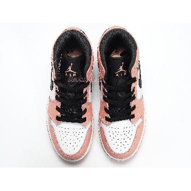 Air Jordan 1 Mid Pink Quartz 555112-603 Pink Quartz/Dark Smoke Grey/White Sneakers