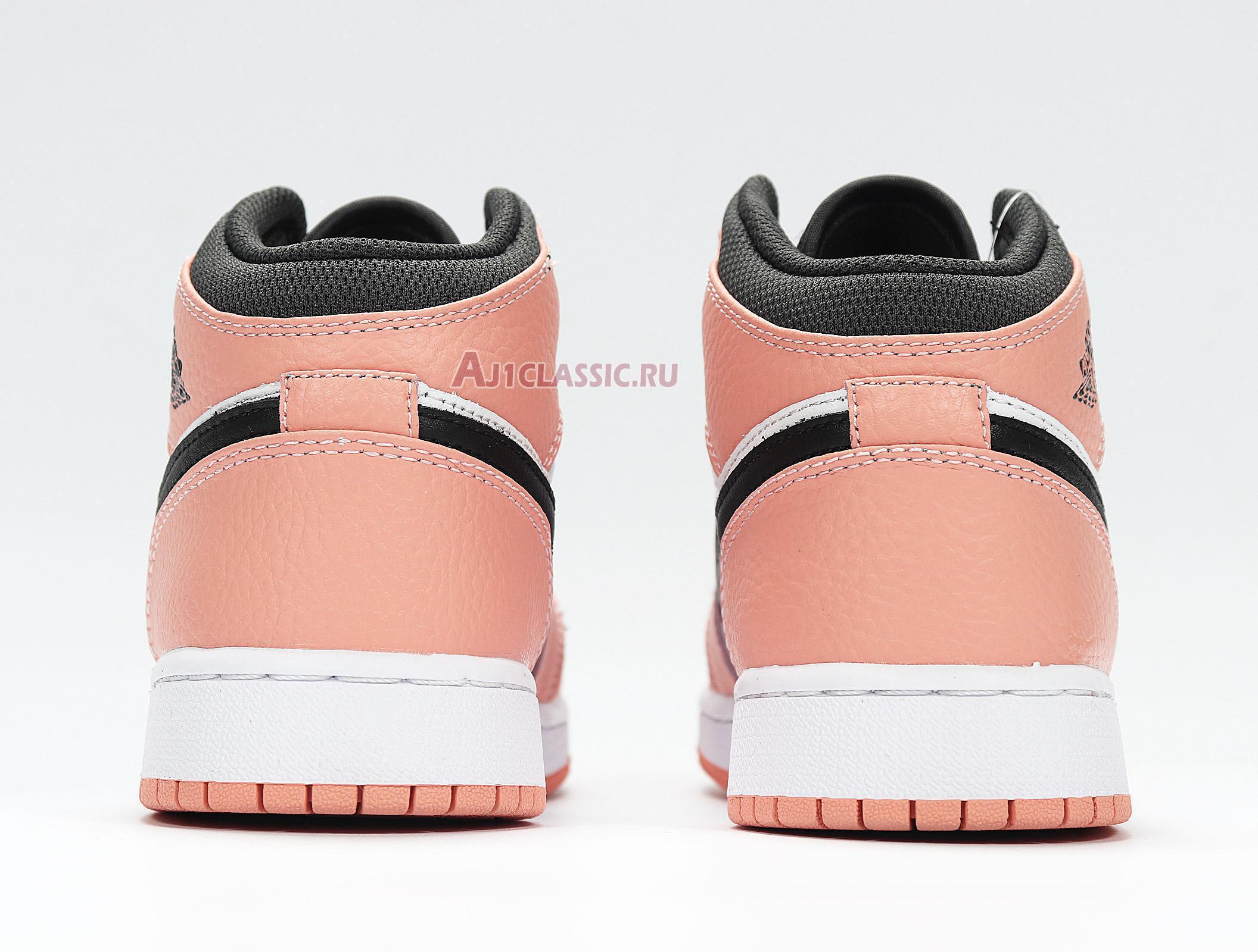 """Air Jordan 1 Mid """"Pink Quartz"""" 555112-603"""