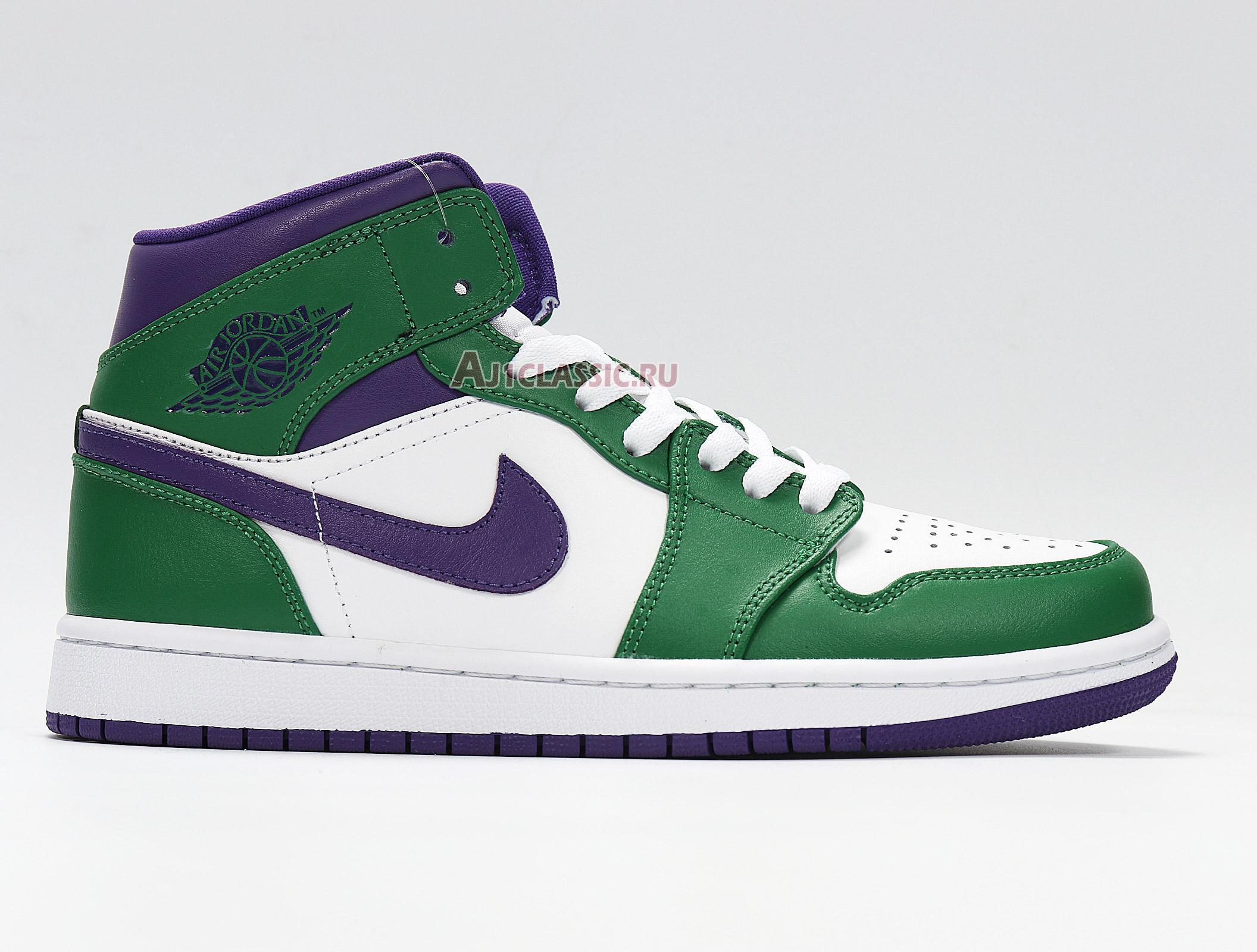 """Air Jordan 1 Mid """"Hulk"""" 554724-300"""