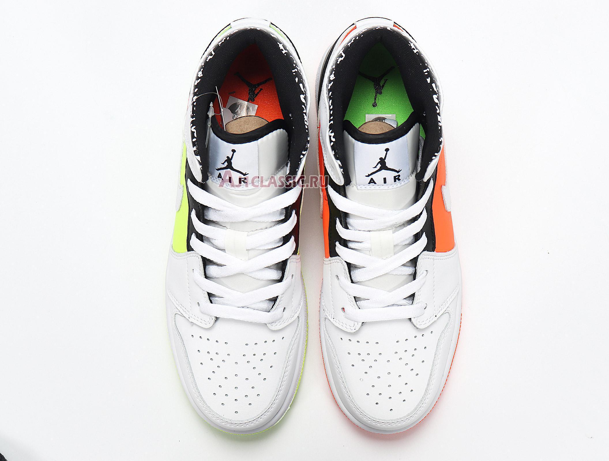 """Air Jordan 1 Mid """"Notebook"""" 554725-870"""