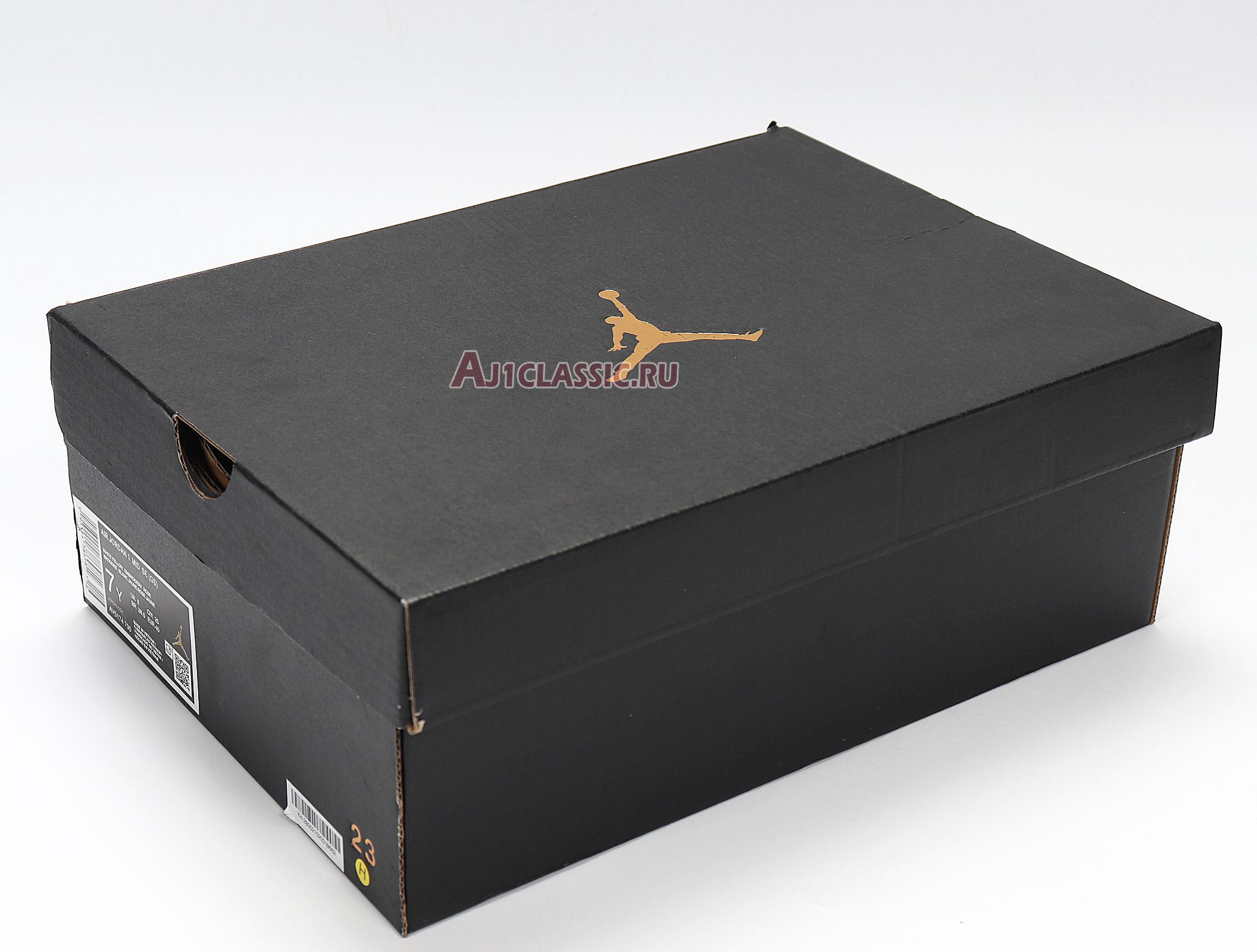 "Air Jordan 1 Mid SE ""Rose Patch - Dynamic Yellow"" AV5174-700"