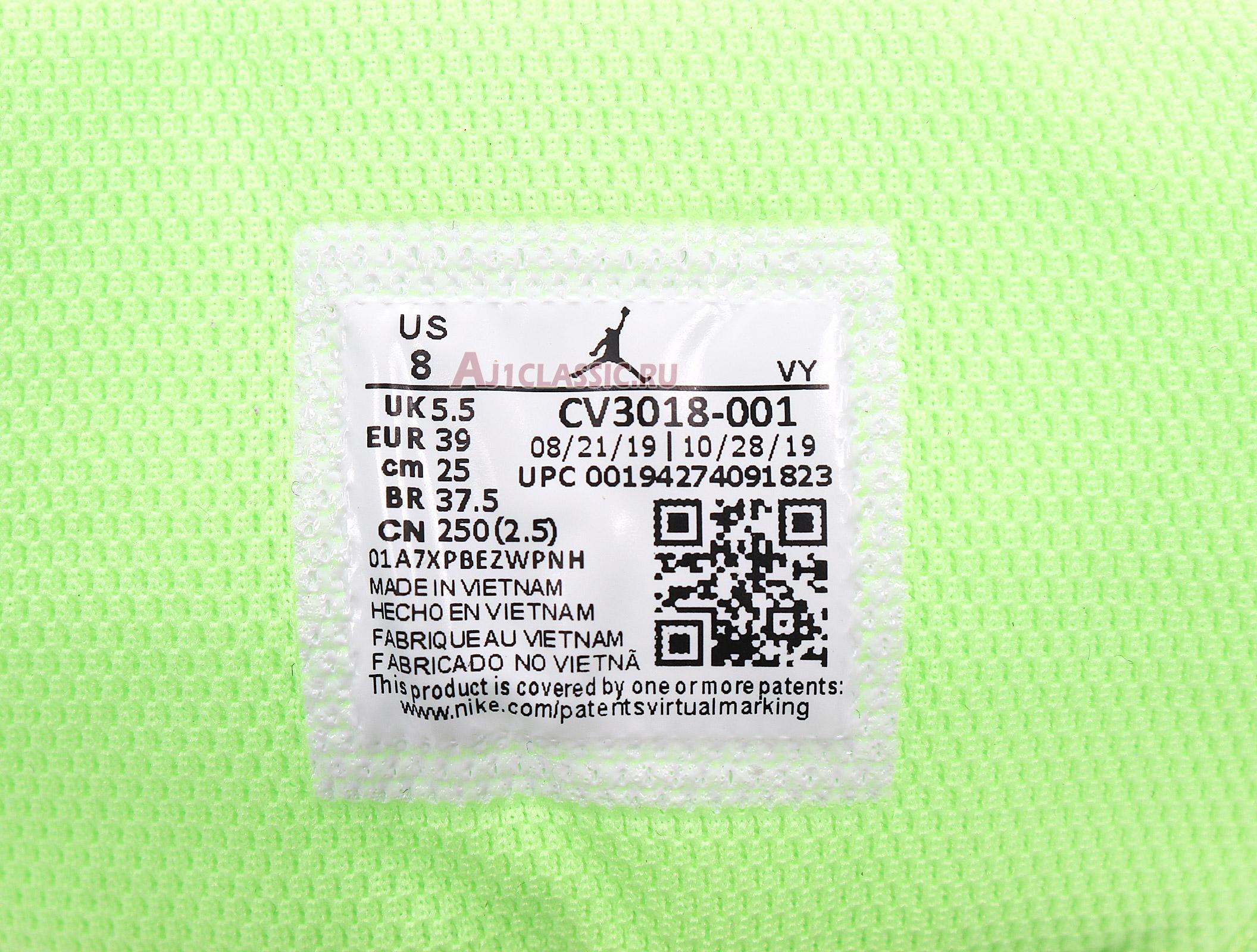 "Air Jordan 1 Mid ""Ghost Green"" CV3018-001"