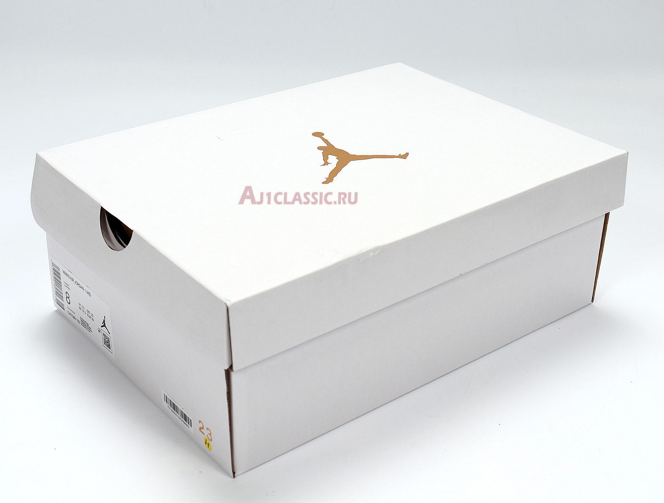 "Air Jordan 1 Mid SE ""Euro Tour"" CW7589-100"