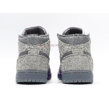 Sheila Rashid x Air Jordan 1 Mid UNITE CW5897-005 Purple/Grey Sneakers