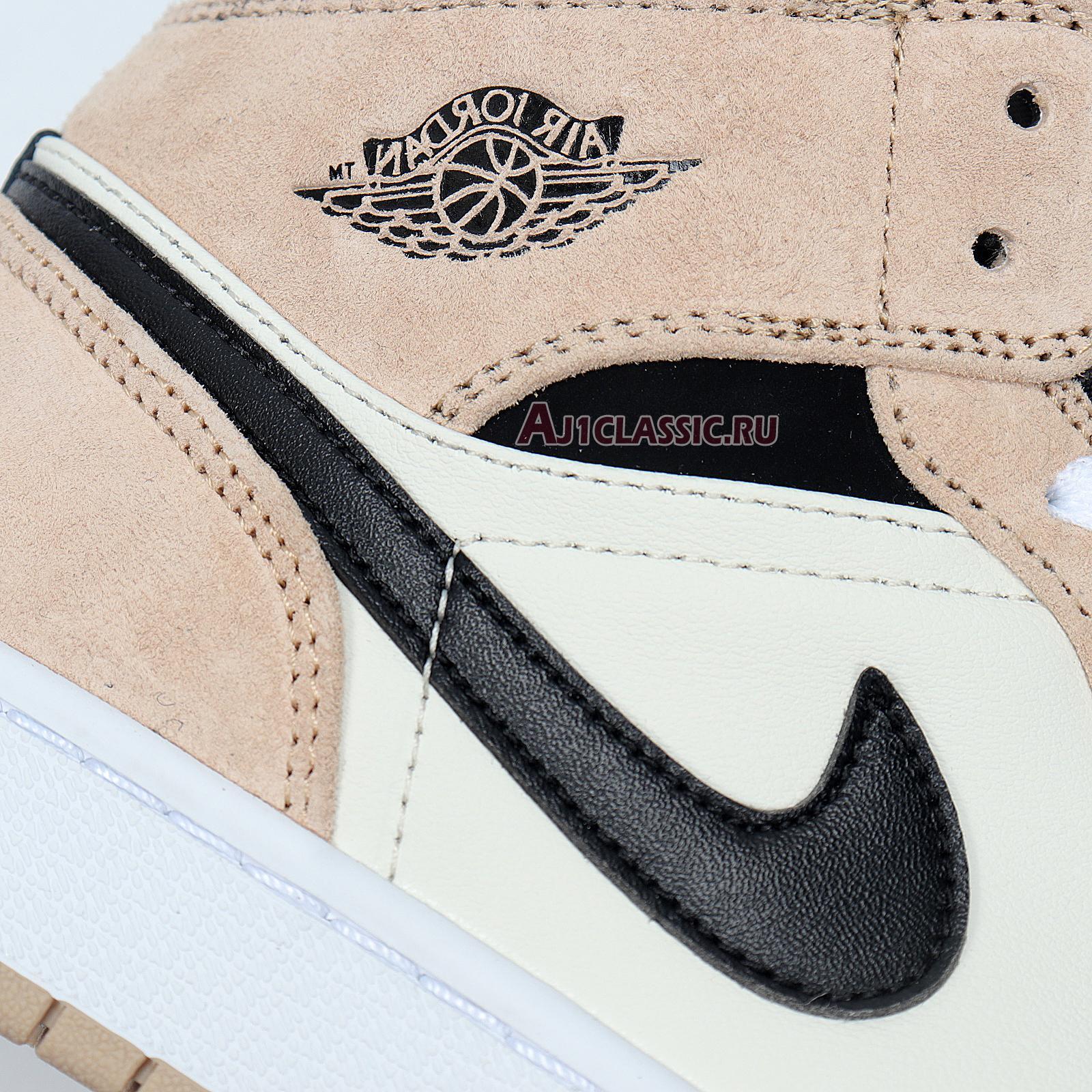 "Air Jordan 1 Mid ""Barely Orange"" CBQ6472-800"
