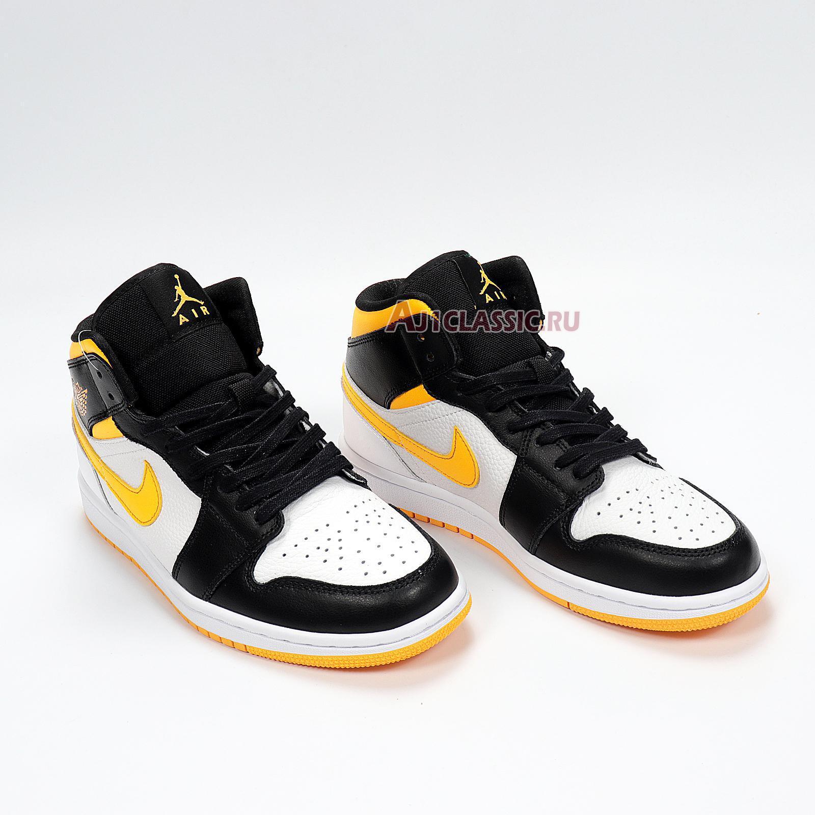 "Air Jordan 1 Mid SE ""White Laser Orange"" CV5276-107"