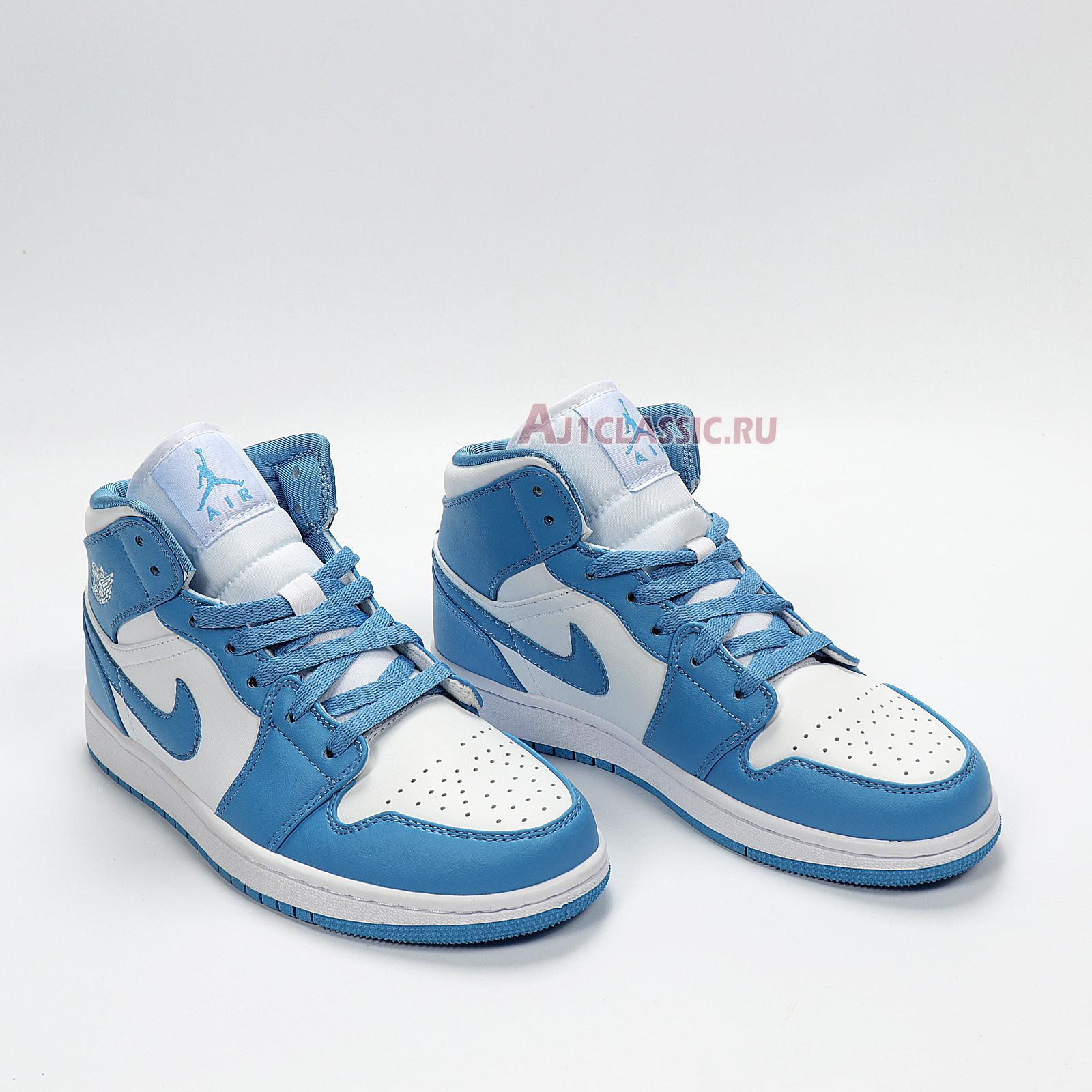"Air Jordan 1 Mid ""UNC"" 554724-106"