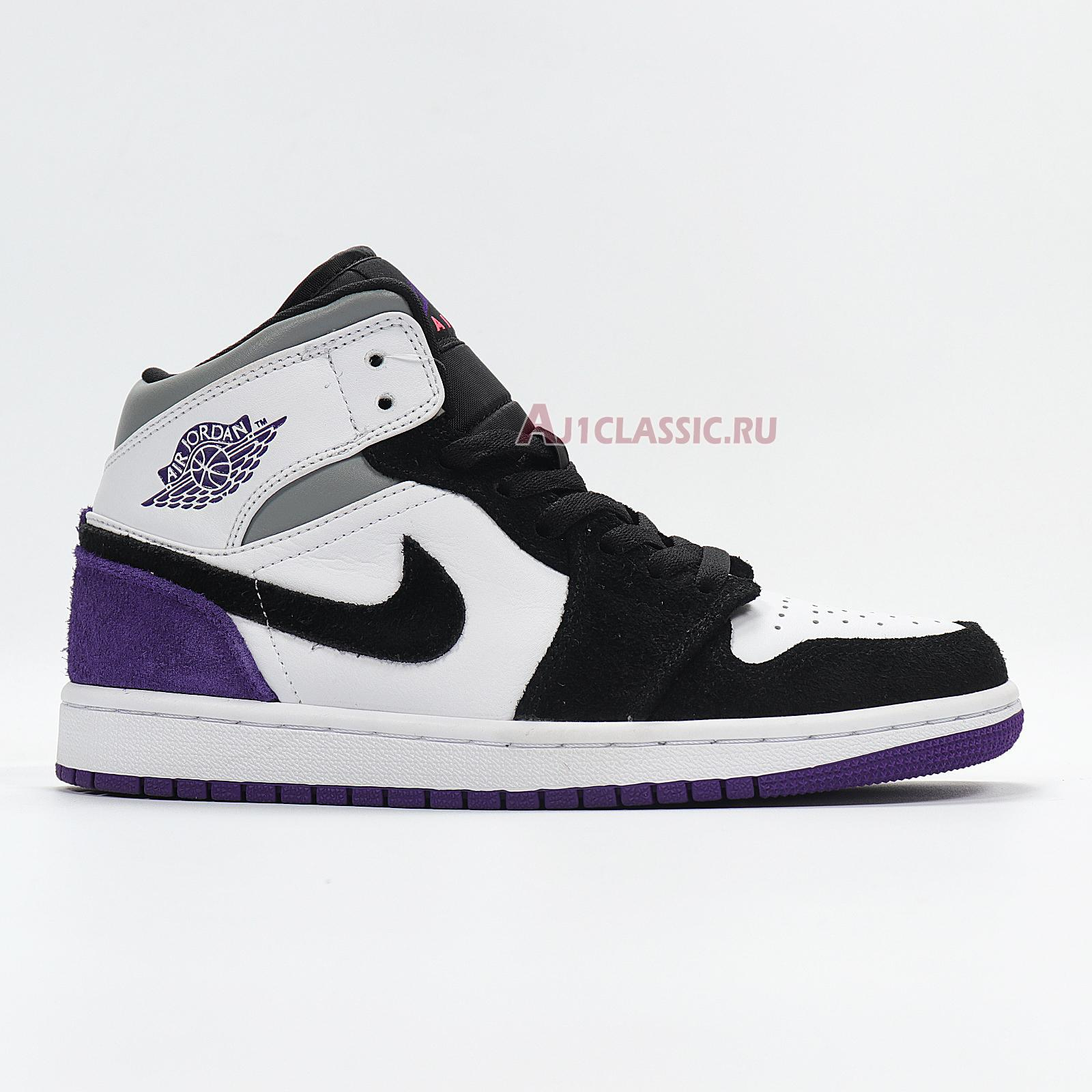 """Air Jordan 1 Mid """"Surfaces With Purple"""" 852542-105"""