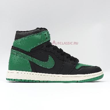 Air Jordan 1 Retro High OG Pine Green 2.0 555088-030 Black/White-Gym Red-Pine Green Sneakers