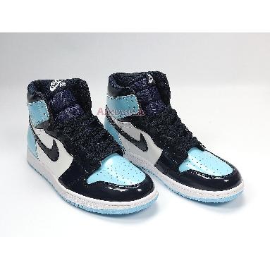 Air Jordan 1 Retro High OG Blue Chill CD0461-401 Obsidian/Blue Chill-White Sneakers
