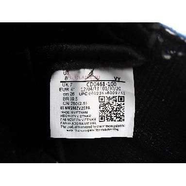 Air Jordan 1 Retro High OG Tie-Dye CD0461-100 White/Black/Aurora Green Sneakers