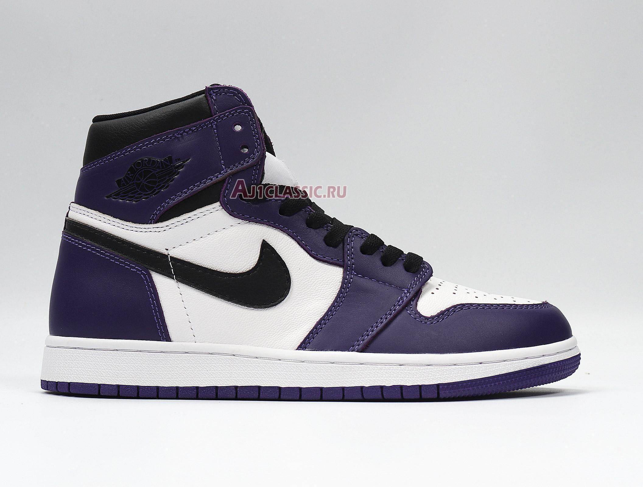 "Air Jordan 1 Retro High OG ""Court Purple 2.0"" 555088-500"