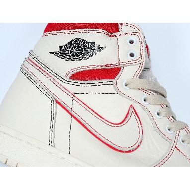 Air Jordan 1 Retro High OG Phantom 555088-160 Sail/Black-Phantom-University Red Sneakers