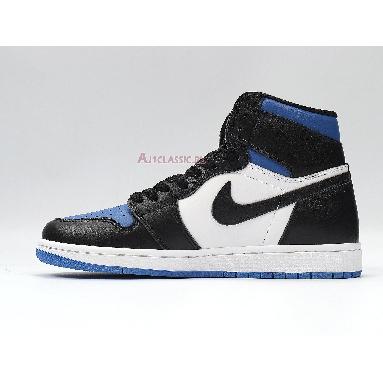Air Jordan 1 Retro High OG Royal Toe 555088-041 Black/White-Game Royal-Black Sneakers