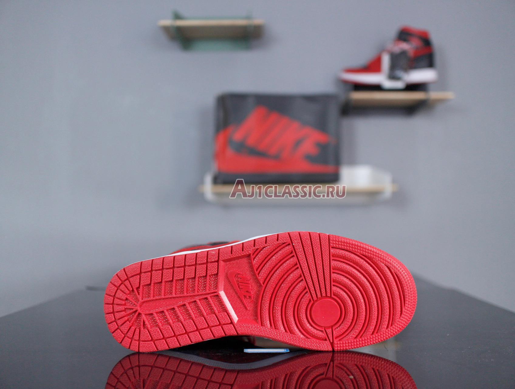 "Air Jordan 1 Mid ""Reverse Banned"" 554724-601"
