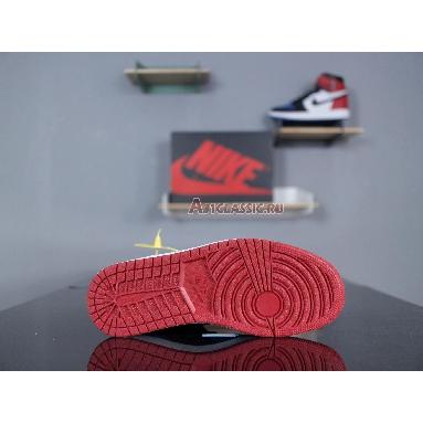 Air Jordan 1 Retro High OG Top 3 555088-026 Black/Varsity Red-Varsity Royal Sneakers