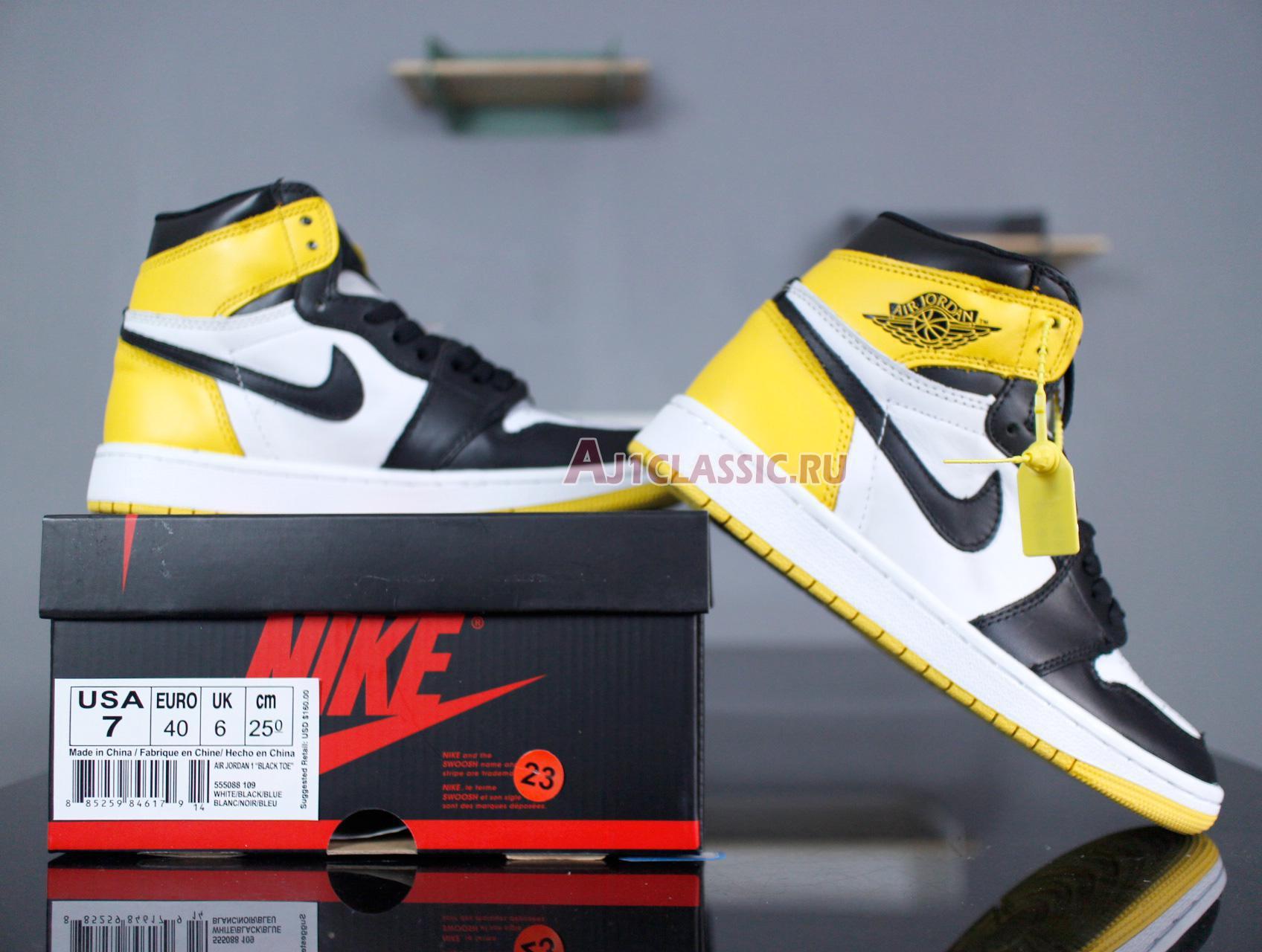 "Air Jordan 1 Retro High OG ""Yellow Ochre"" 555088-109"