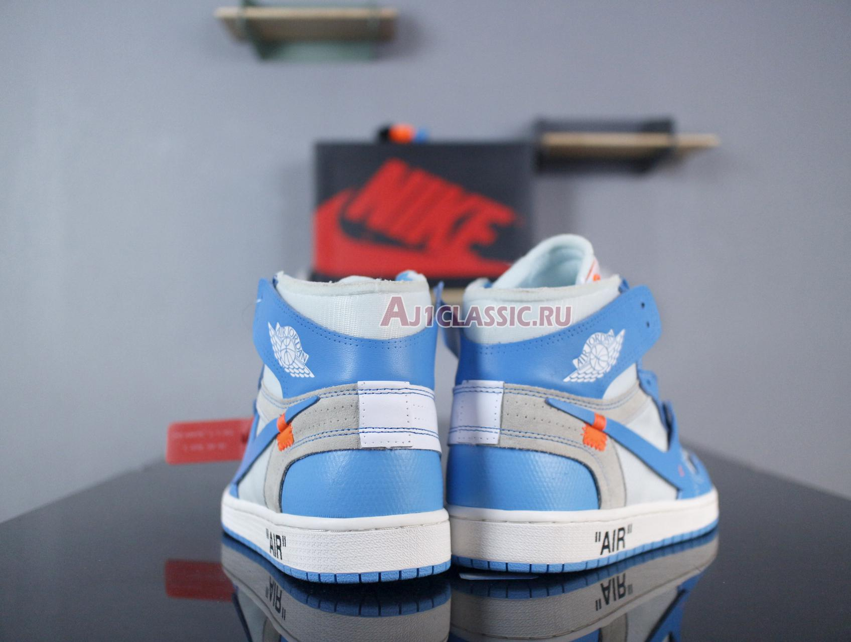 "Off-White x Air Jordan 1 Retro High OG ""UNC"" AQ0818-148"